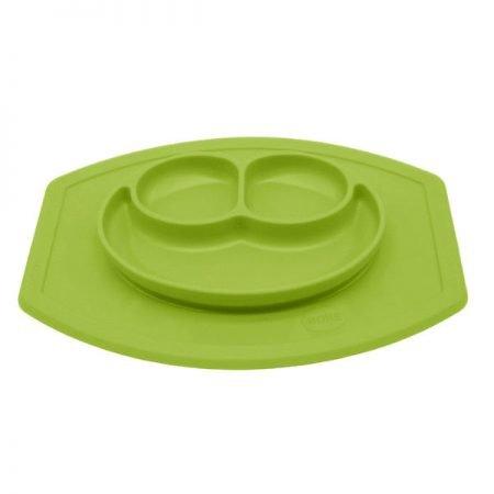 Virgel Silikone tallerken Grøn