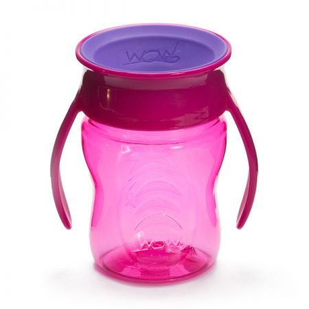 WOW Cup Baby Spildfri Tudkop Pink