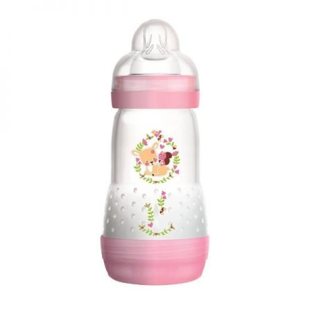 MAM Anti Kolik Sutteflaske Easy Start 260 ml Pink